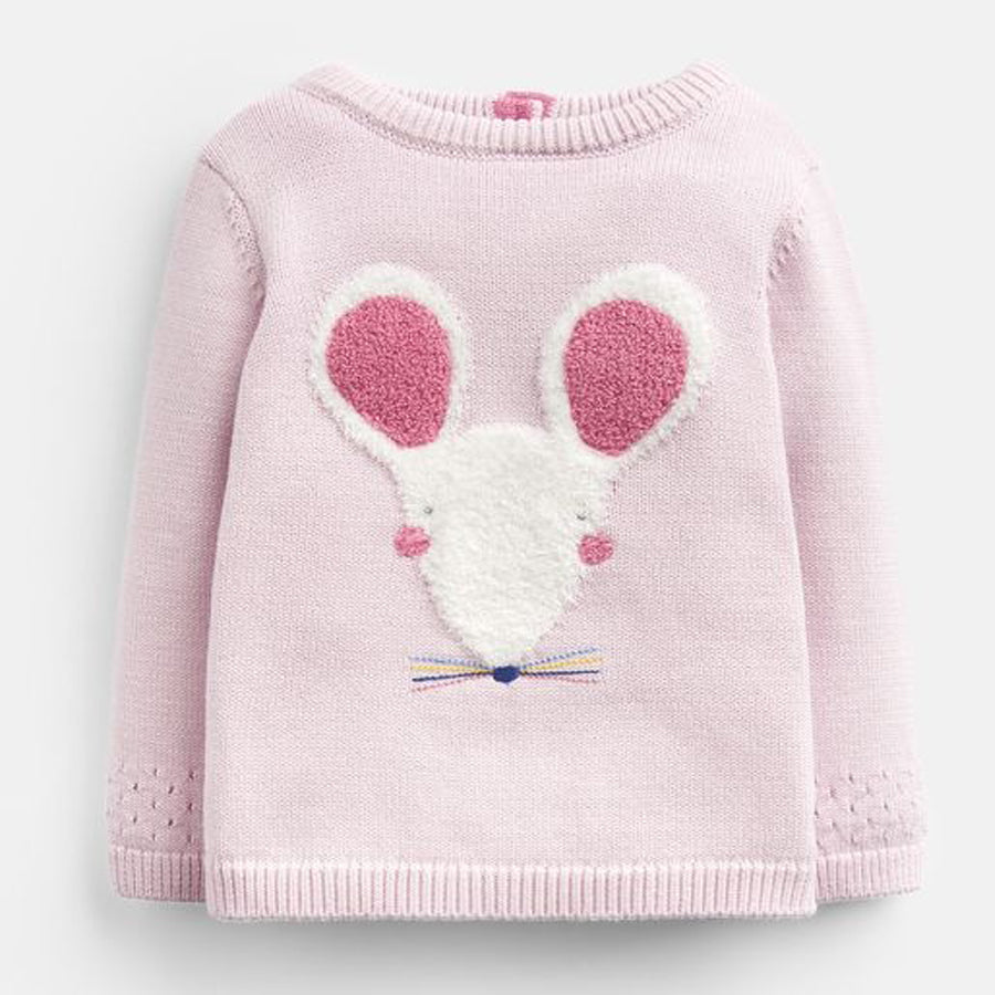 Ivy Intarsia Knitted Sweater - Joules - joannas-cuties