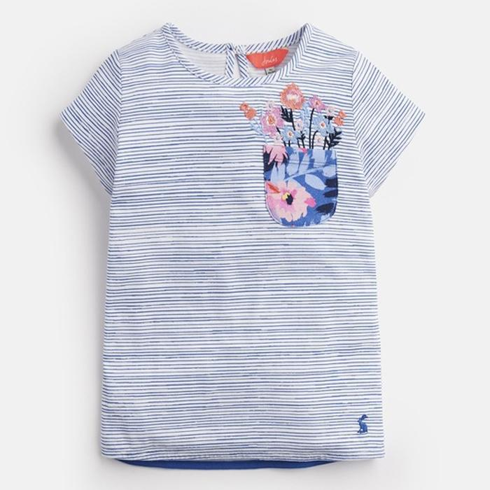 Jersey Applique T-Shirt - Joules - joannas-cuties
