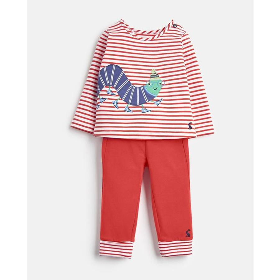 Jersey Applique Top And Trouser Set - Joules - joannas-cuties