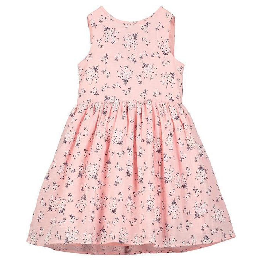 Jewel Dress Pink Floral-Vignette-Joanna's Cuties