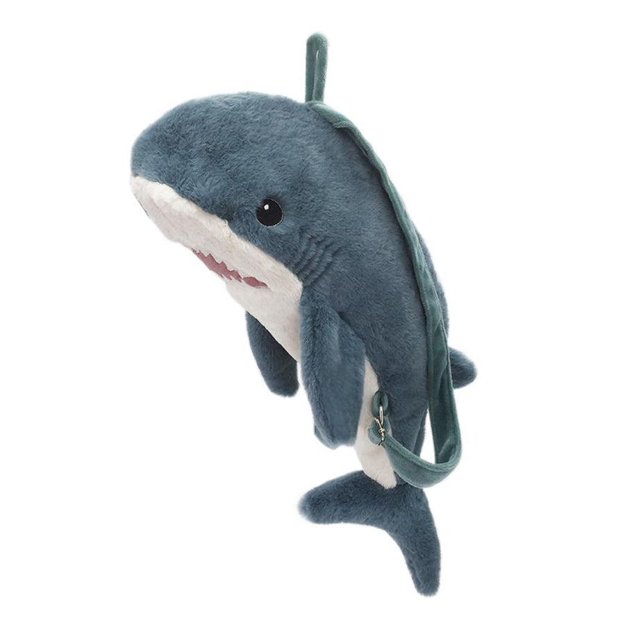 'Seaborn' Shark Plush Backpack-Mon Ami-Joanna's Cuties