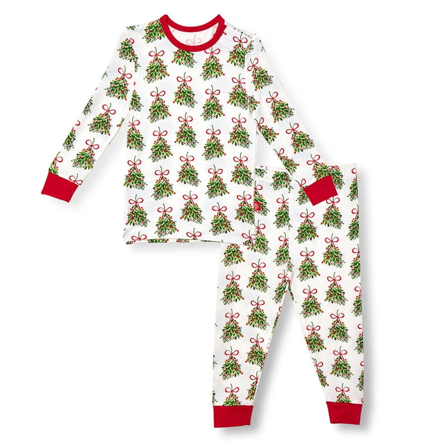 Kiss Me Modal Magnetic Toddler Pajama Set-Magnetic Me-Joanna's Cuties