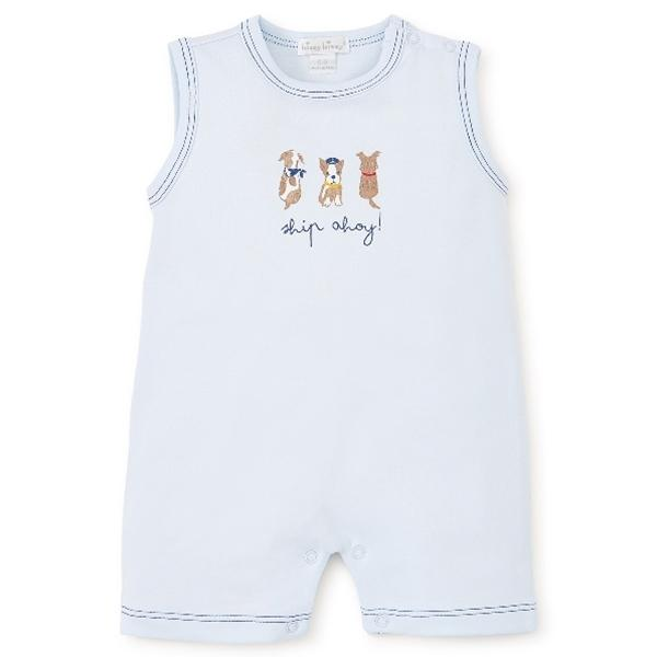 Kissy Kissy - Salty Dogs - Slvless Playsuit - Kissy Kissy - joannas-cuties