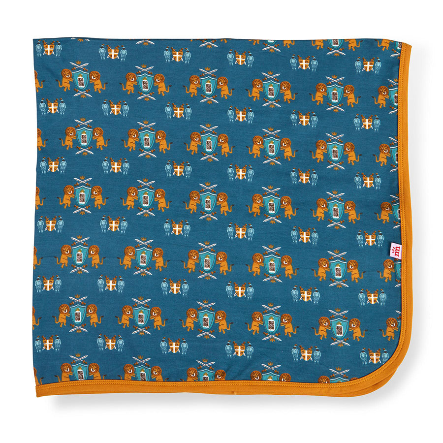 Knighty Night Modal Swaddle Blanket-Magnetic Me-Joanna's Cuties