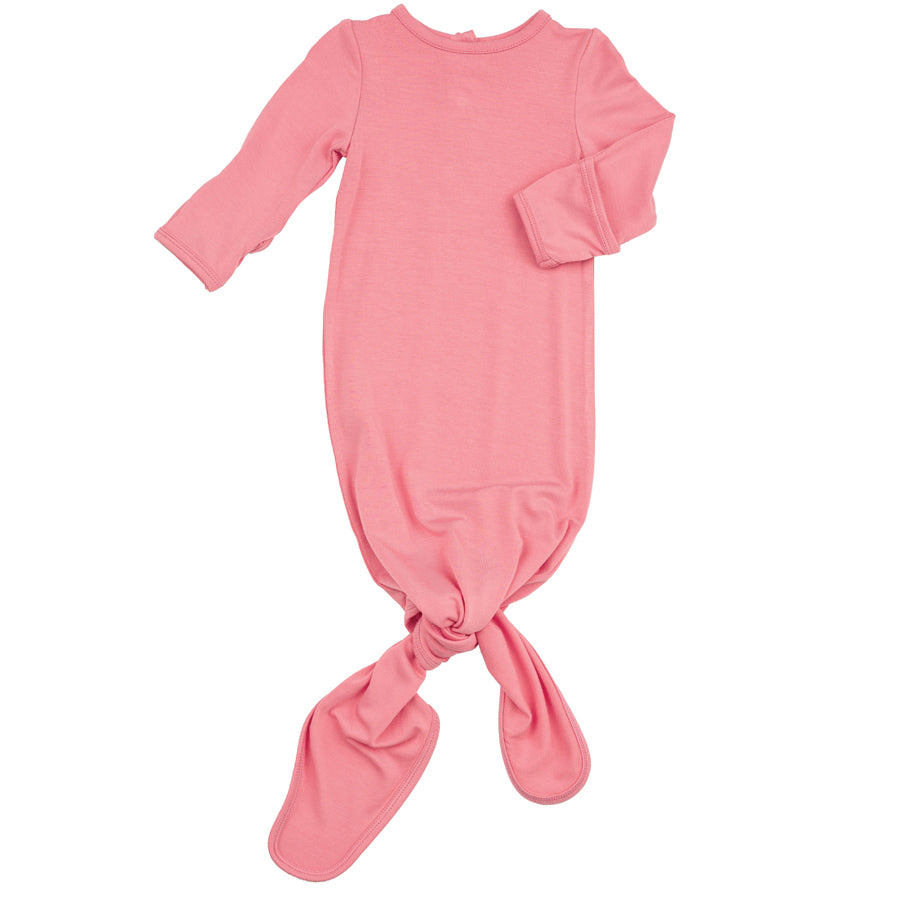 Knotted Gown FL Pink-Angel Dear-Joanna's Cuties