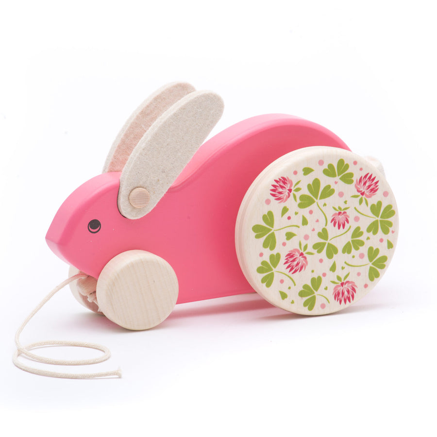 Large Hopping Rabbit - Pink