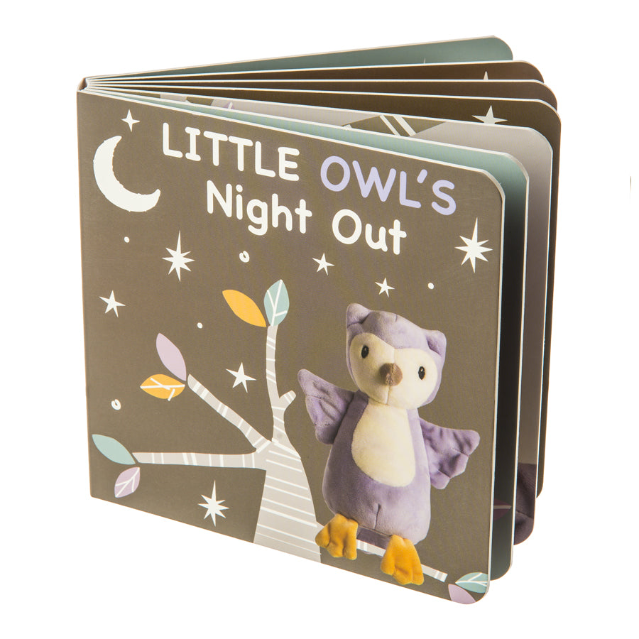 Leika Little Owl Board Book-Mary Meyer-Joanna's Cuties