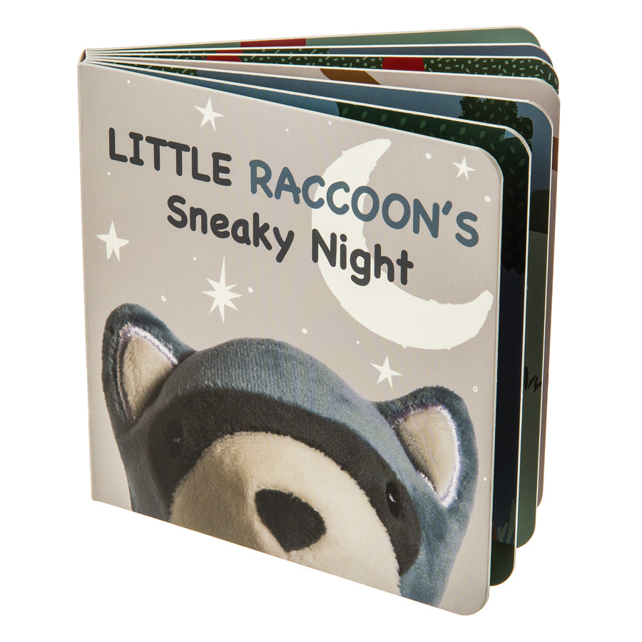 Leika Little Raccoon Board Book