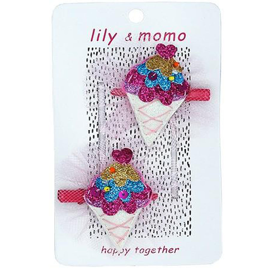 Life Is Sweet - Hair Clip-Lily & Momo-Joanna's Cuties