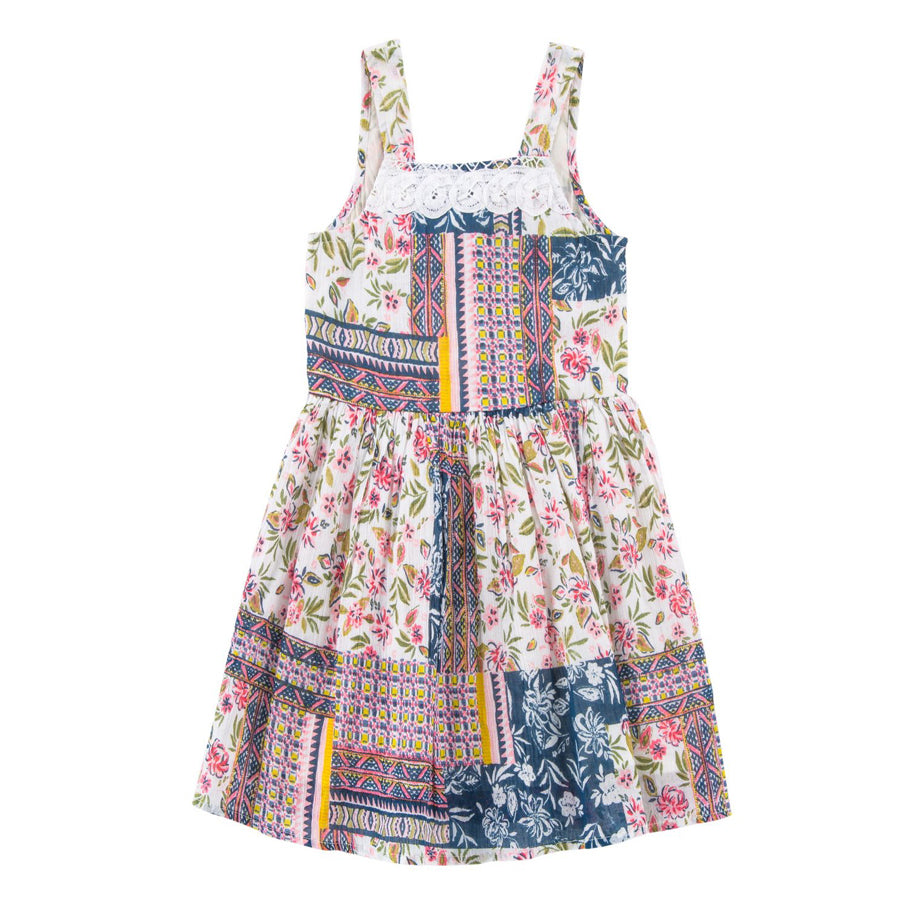 Lila Tie Back Dress - Mimi & Maggie - joannas-cuties
