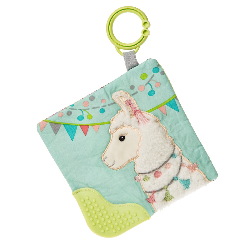 Lily Llama Crinkle Teether – 6×6″-Mary Meyer-Joanna's Cuties