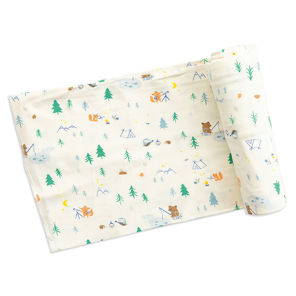 Little Campers Swaddle Blanket - Angel Dear - joannas-cuties