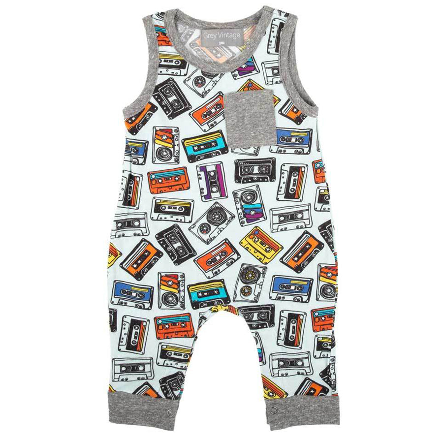 Drew Romper Mixed Tape