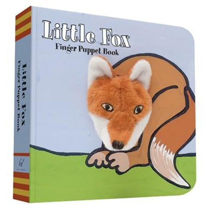 Little Fox: Finger Puppet Book - Chronicle Books - joannas-cuties