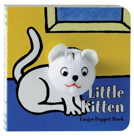 Little Kitten Finger Puppet Book - Chronicle Books - joannas-cuties