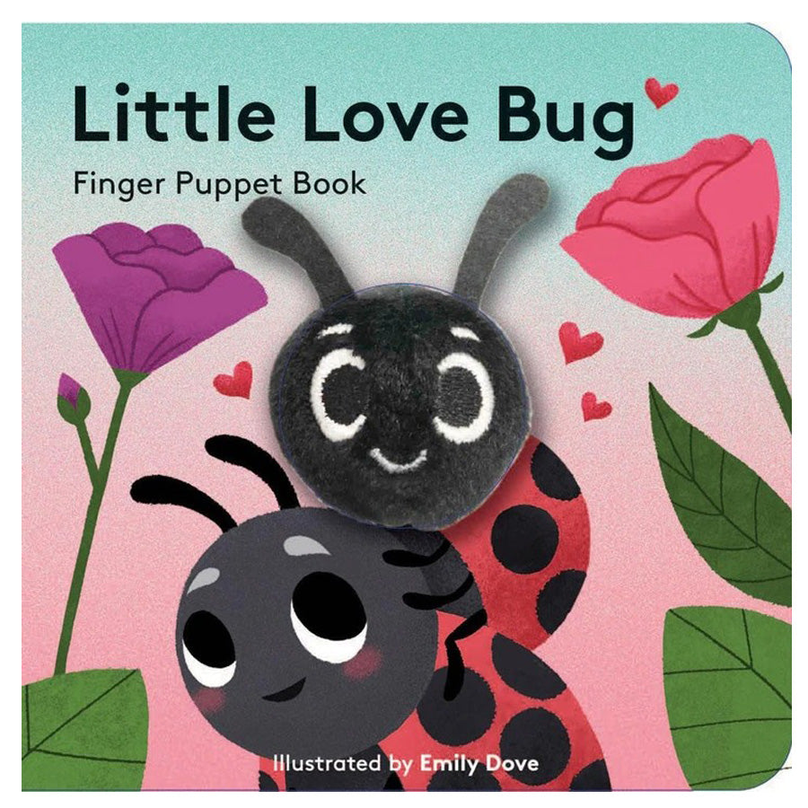 Little Love Bug - Finger Puppet Book-Chronicle Books-Joanna's Cuties