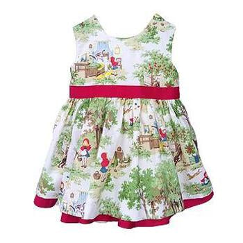 Little Red Mollie Dress - FiveLoves TwoFish - joannas-cuties