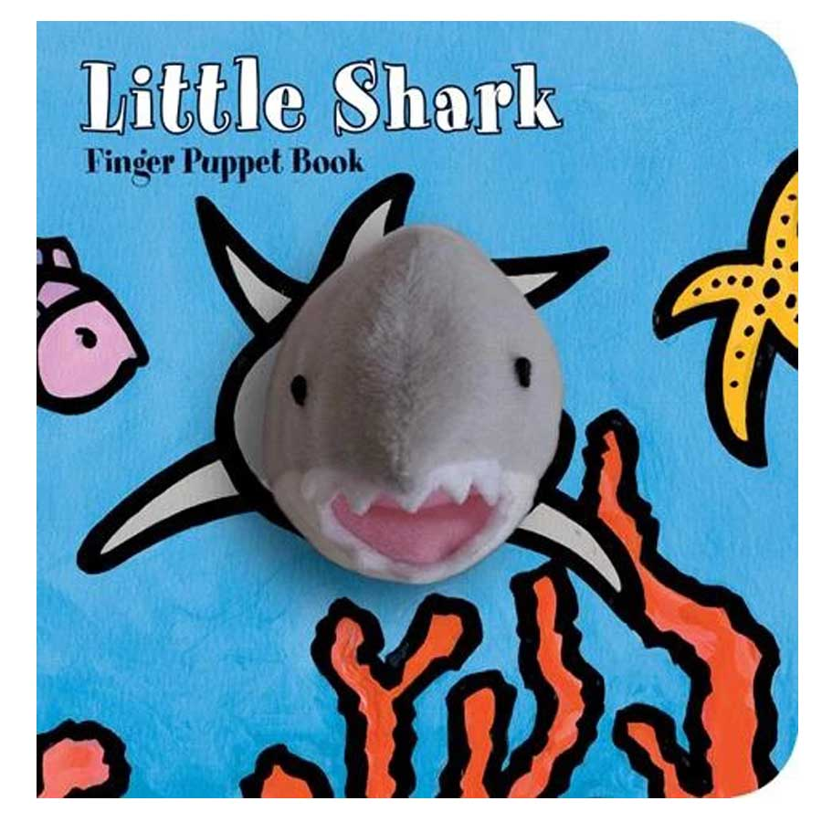 Little Shark: Finger Puppet Book-Chronicle Books-Joanna's Cuties