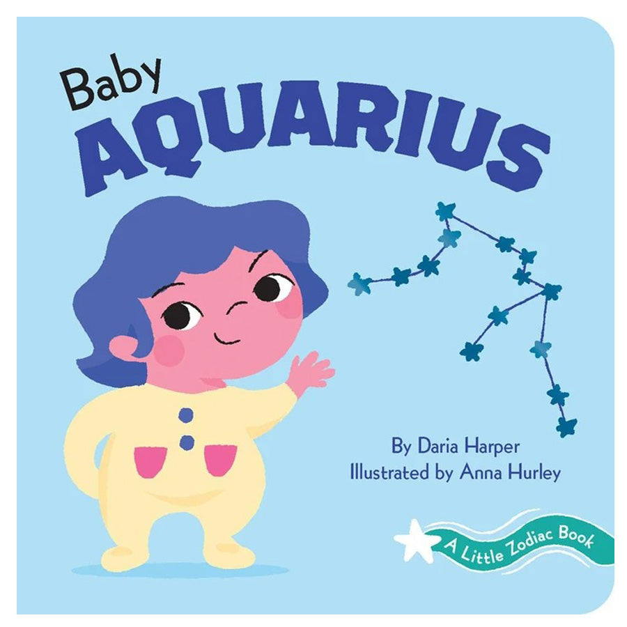 A Little Zodiac Book - Baby Aquarius-Chronicle Books-Joanna's Cuties