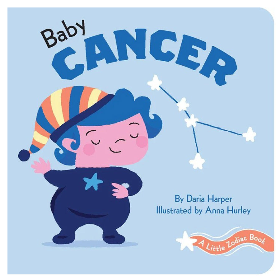A Little Zodiac Book - Baby Cancer-Chronicle Books-Joanna's Cuties