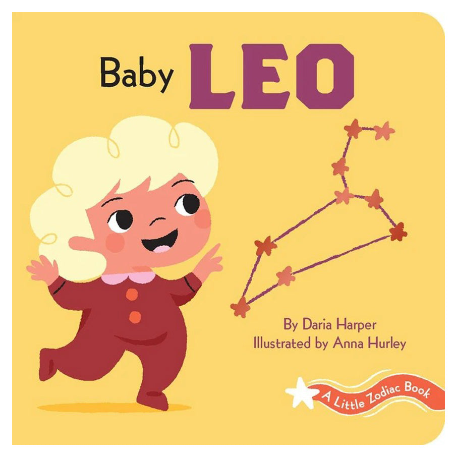 A Little Zodiac Book - Baby Leo-Chronicle Books-Joanna's Cuties