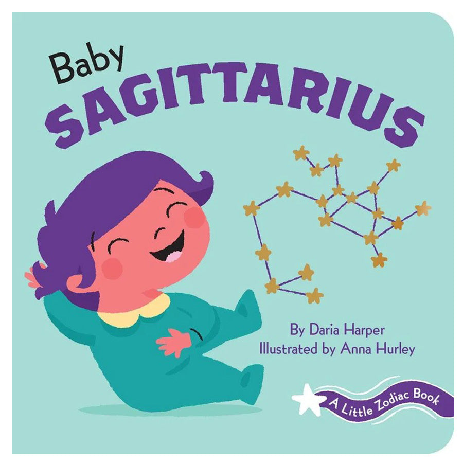 A Little Zodiac Book - Baby Sagittarius-Chronicle Books-Joanna's Cuties