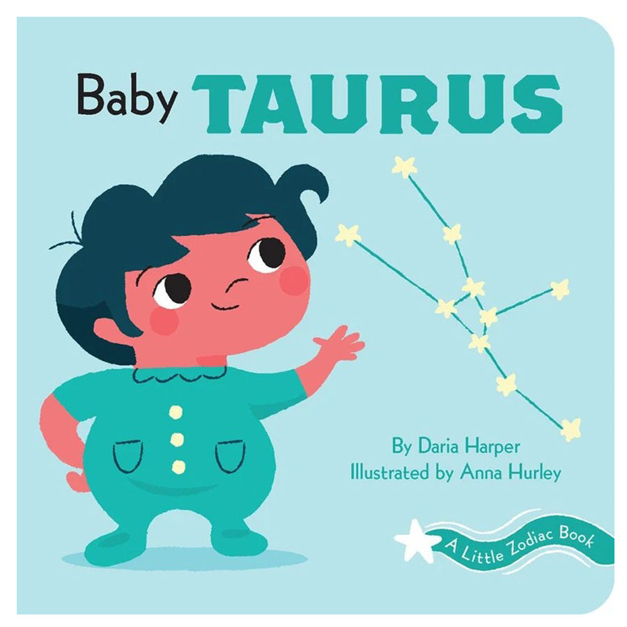 A Little Zodiac Book - Baby Taurus-Chronicle Books-Joanna's Cuties