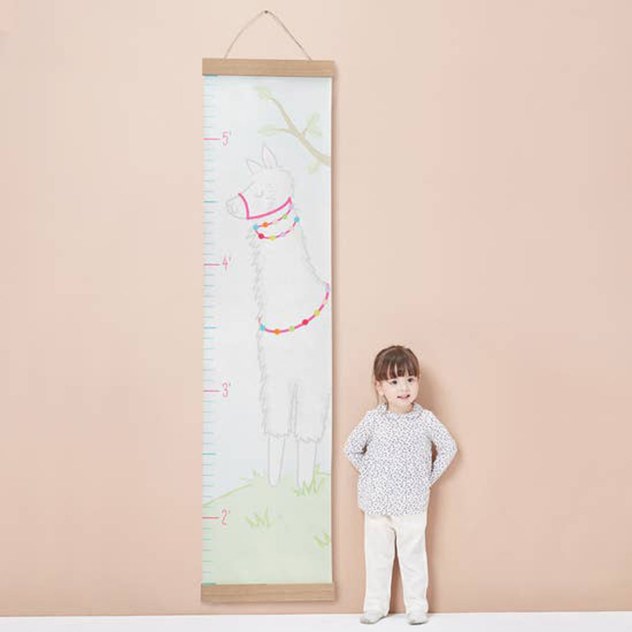 Llama Hanging Growth Chart-Baby Aspen-Joanna's Cuties