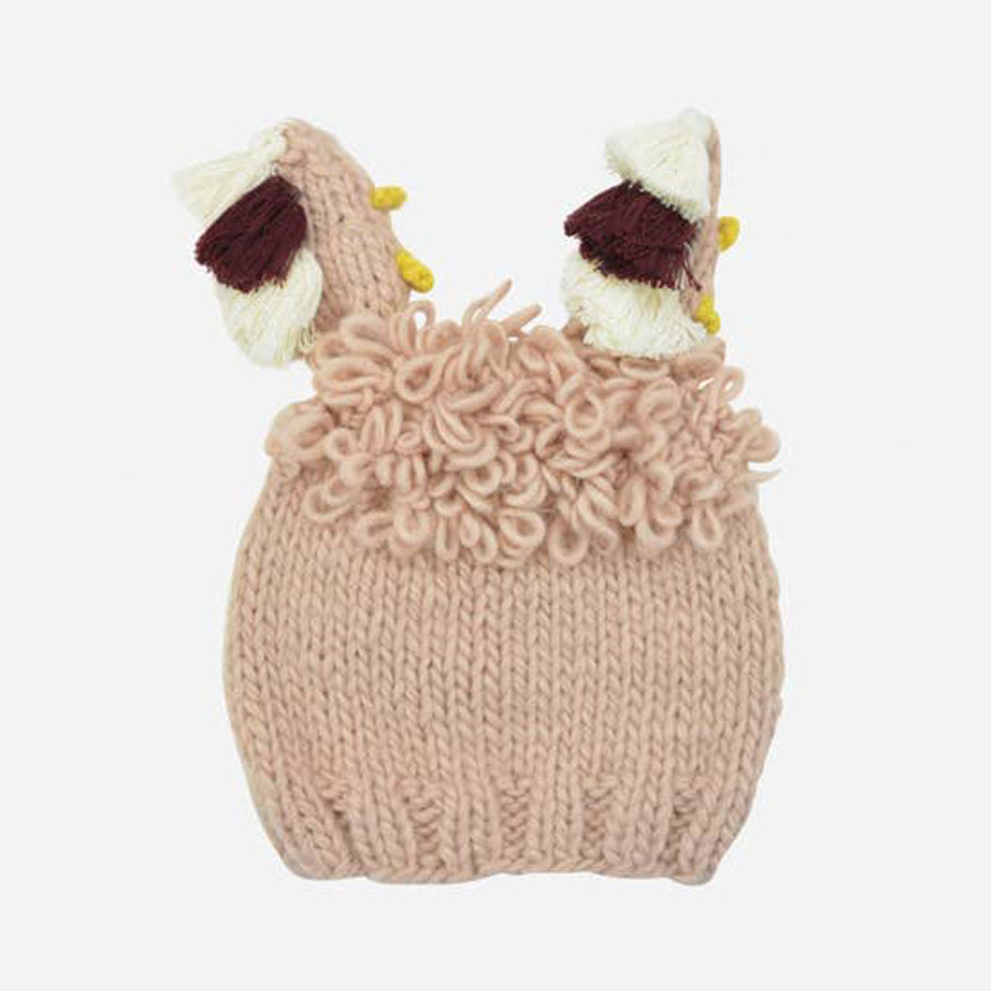 Llama Pink Hat-The Blueberry Hill-Joanna's Cuties