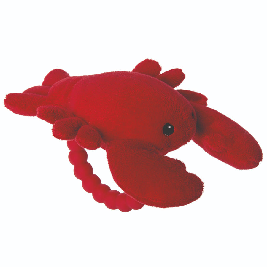 Lobbie Lobster Rattle Teether
