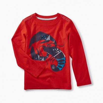 Lobster Graphic Tee-Tea-joannas_cuties