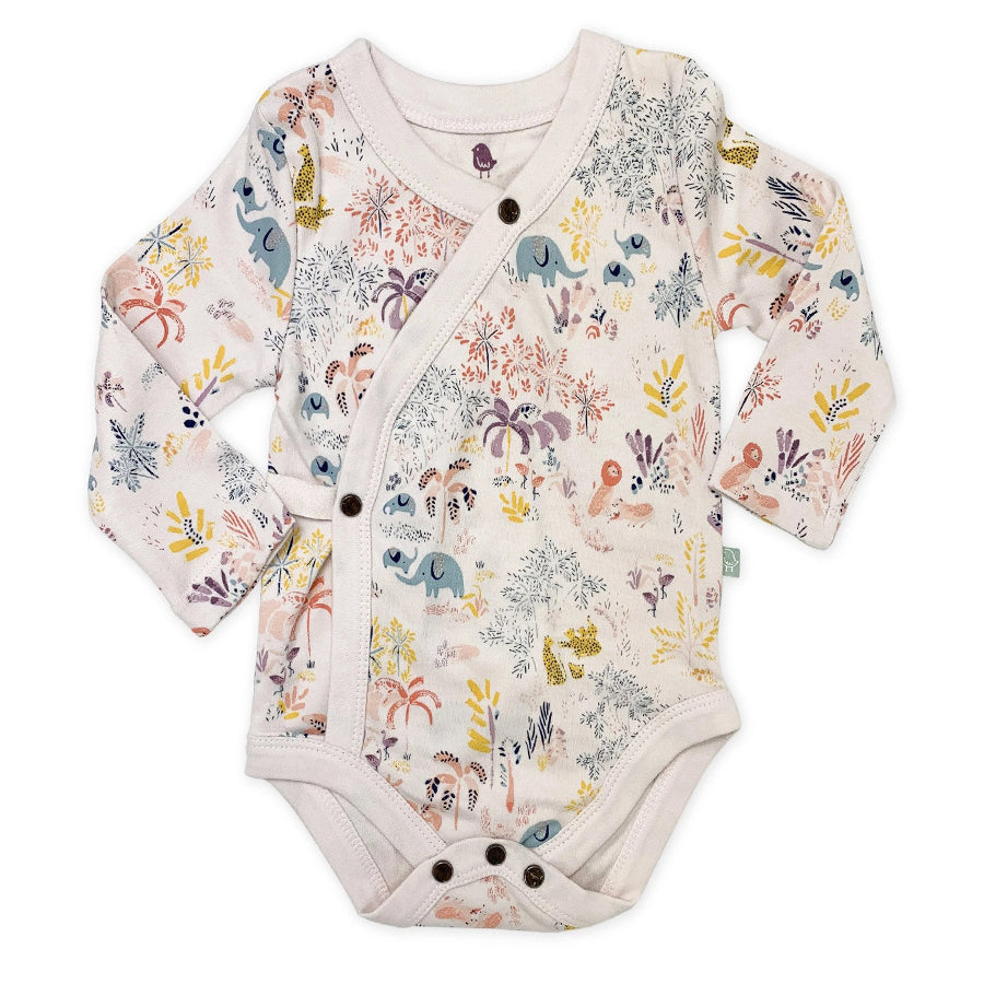 Long Sleeve Bodysuit - Savanna