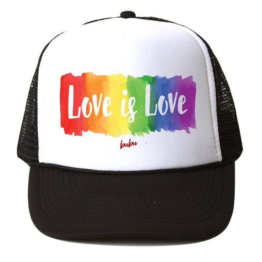 Love Is Love Trucker Hat-Bubu-Joanna's Cuties