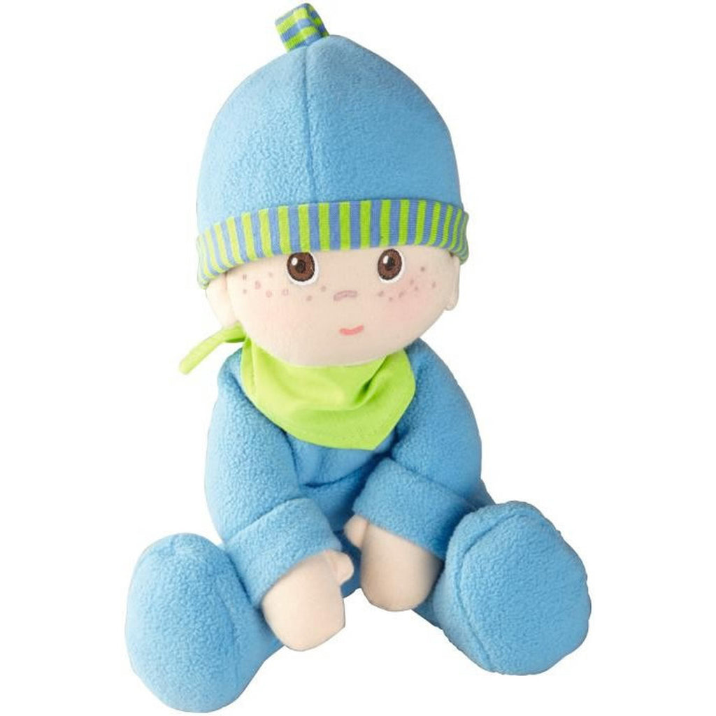Luis Snug-Up Doll, Haba - Joanna's Cuties