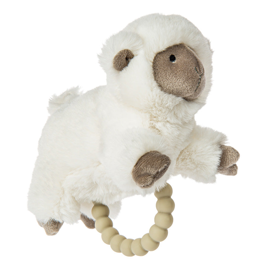 Luxey Lamb Teether Rattle