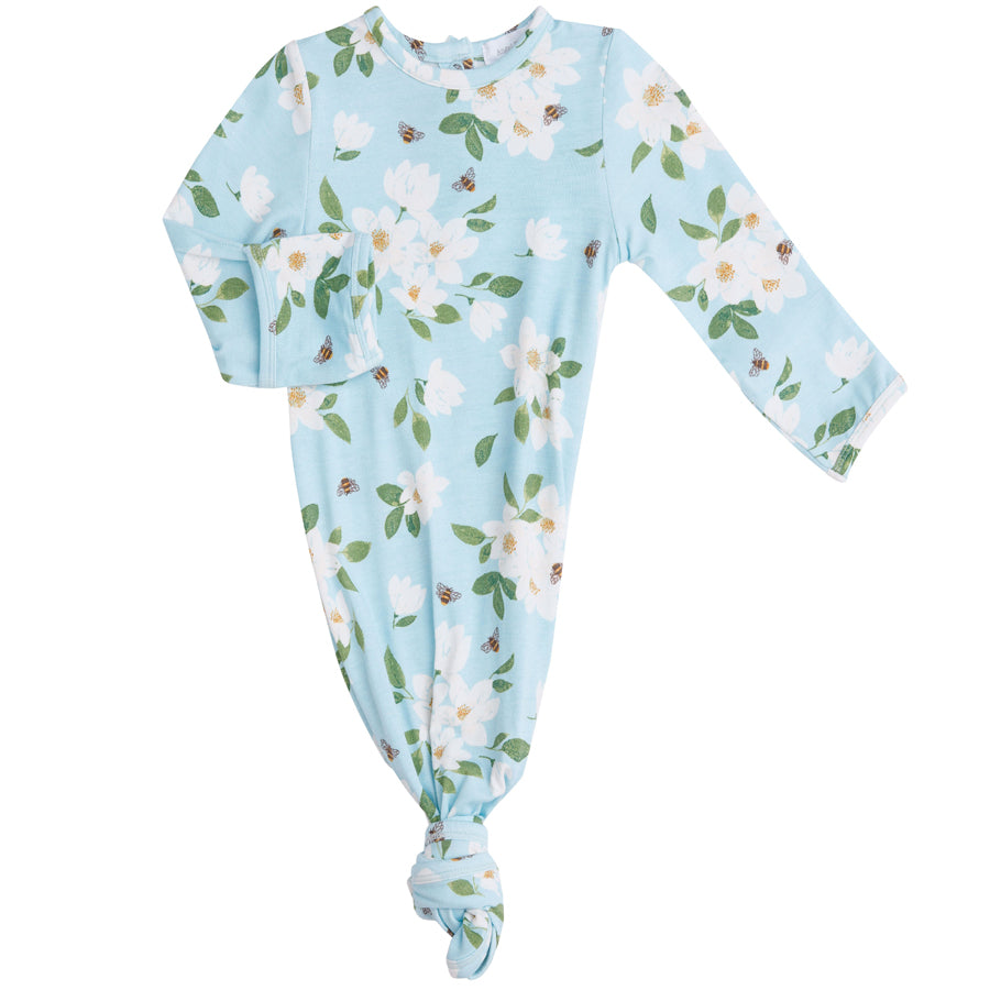 Magnolia Blue Knotted Gown-Angel Dear-Joanna's Cuties