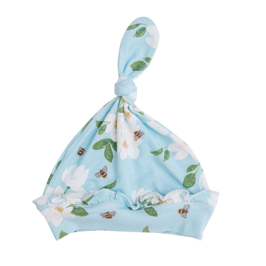 Magnolia Blue Knotted Hat-Angel Dear-Joanna's Cuties