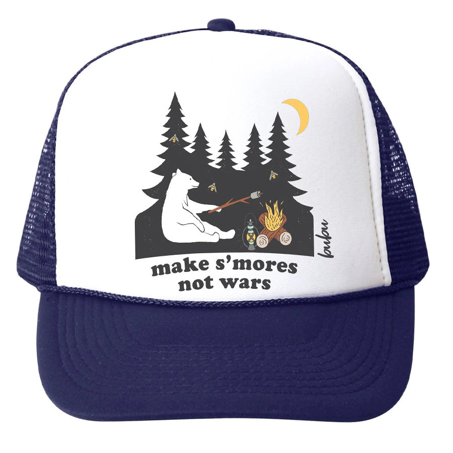 Make S'mores Not Wars Hat-Bubu-Joanna's Cuties