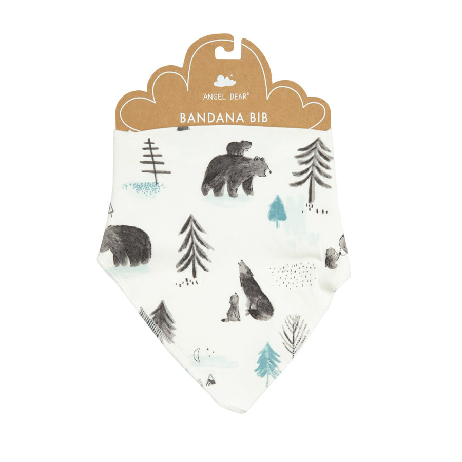Mama And Cubs Bandana Bib-Angel Dear-Joanna's Cuties