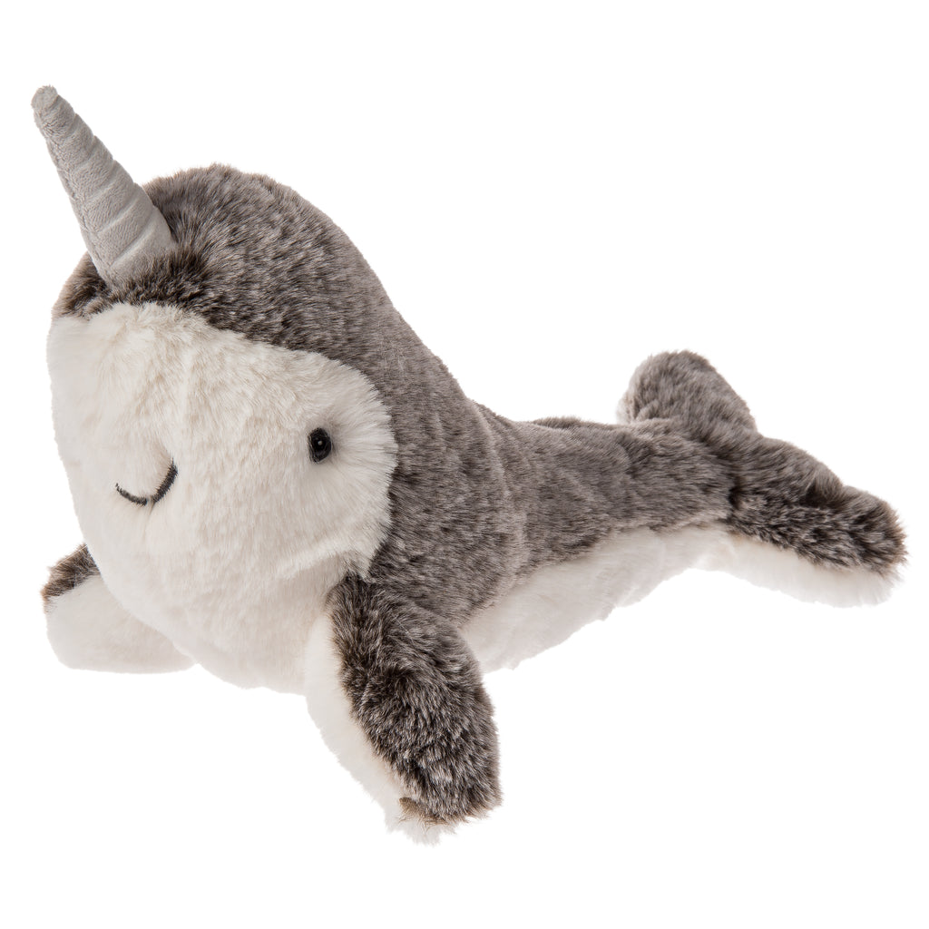 Marshmallow Junior Nikko Narwhal – 9″ - Mary Meyer - joannas-cuties