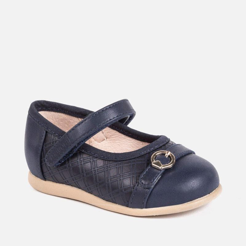 Mary Jane shoes with buckle for baby girl, Mayoral - Joanna's Cuties