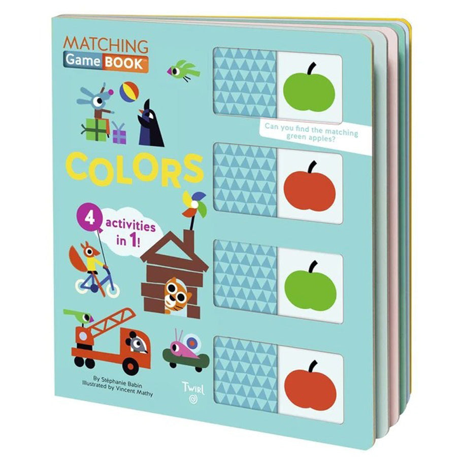 Matching Game Book - Colors-Chronicle Books-Joanna's Cuties