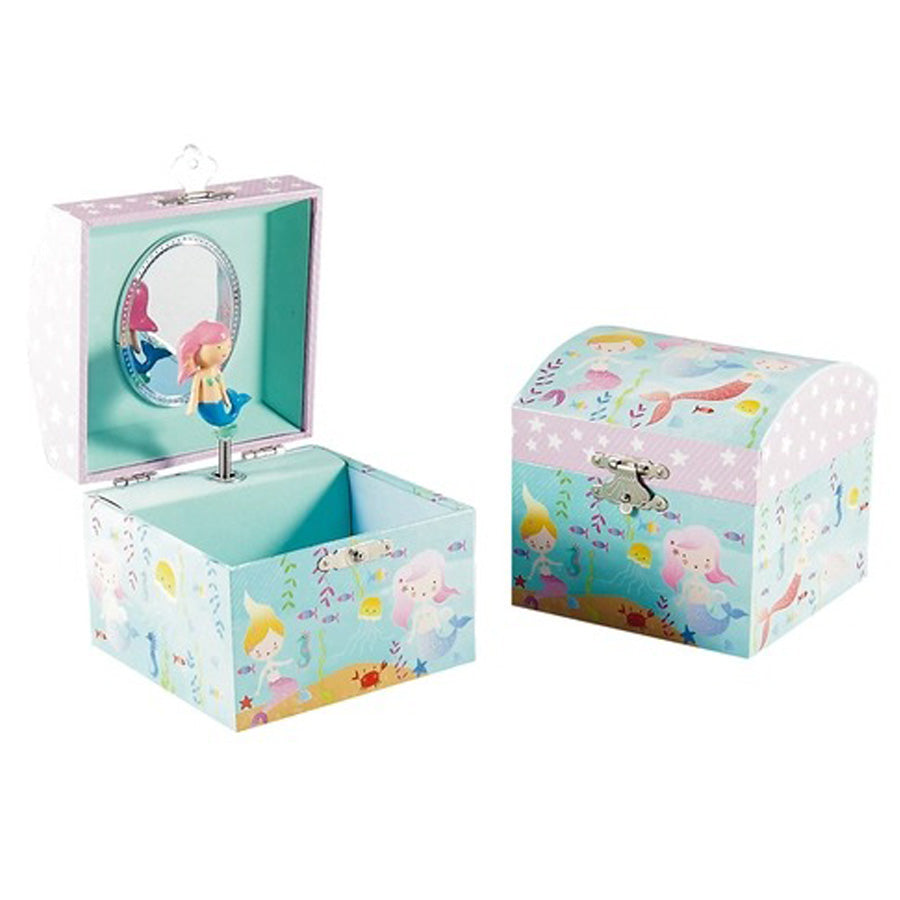 Mermaid Small jewelry Box - Music: Beautiful Dreamer-Floss & Rock-Joanna's Cuties