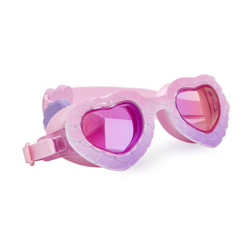 Mermaid Swim Goggles for Girls Pink/Purple-Bling2O-Joanna's Cuties