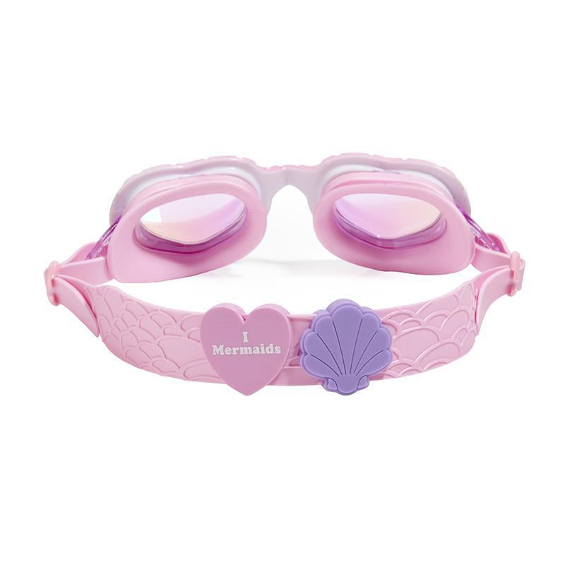 Mermaid Swim Goggles for Girls Pink/Purple, Bling2O - Joanna's Cuties