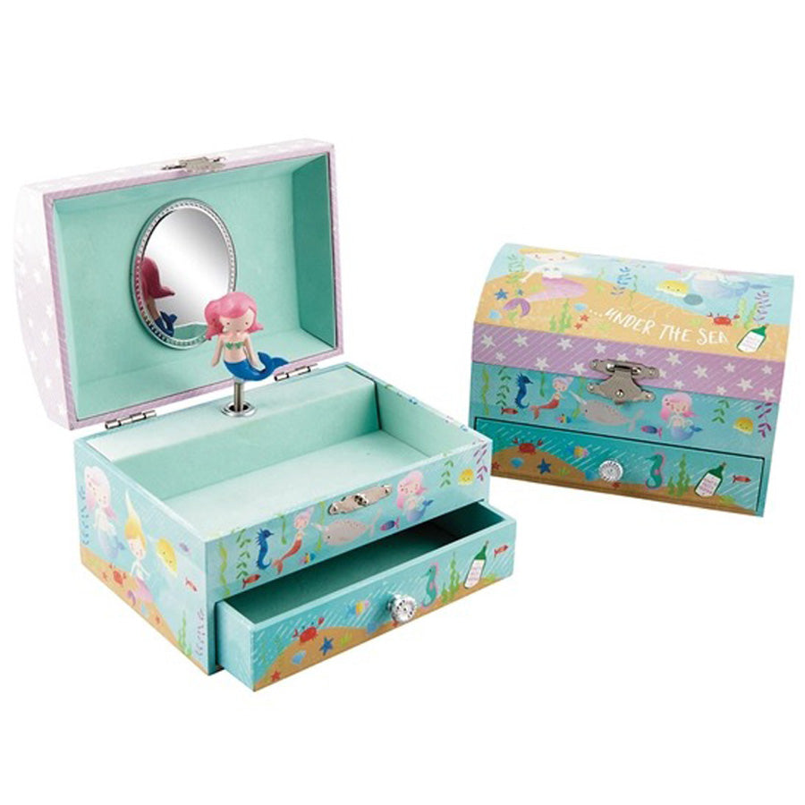 Mermaid Jewelry Box - Music: Beautiful Dreamer-Floss & Rock-Joanna's Cuties