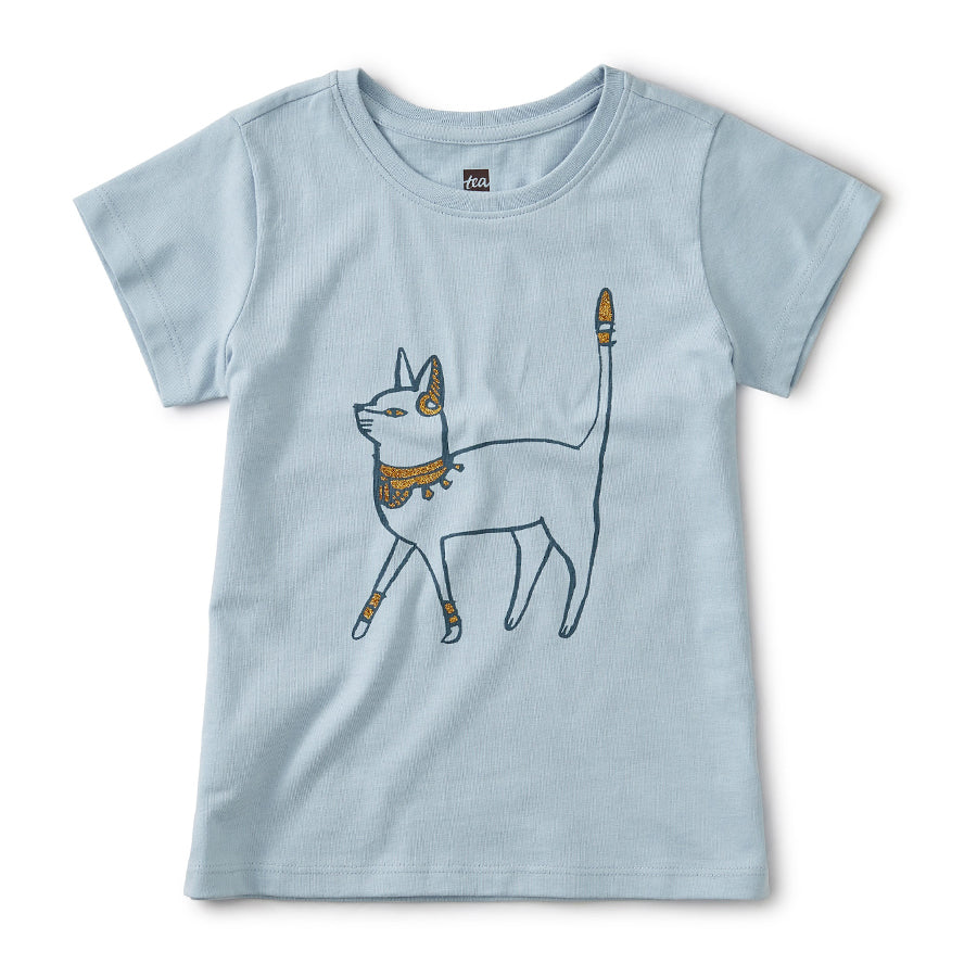 Metallic Cattitude Tee-Tea-Joanna's Cuties