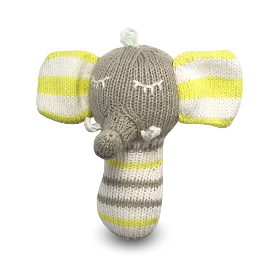 Mini Rattle - Piper The Elephant-Finn + Emma-Joanna's Cuties