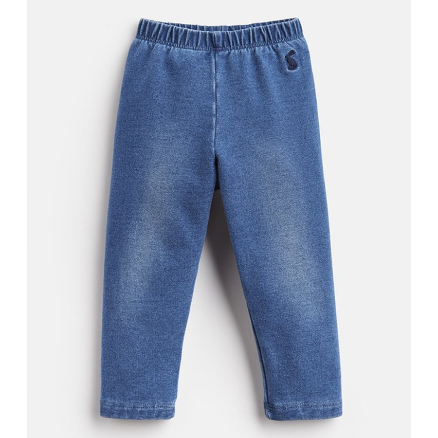 Minnie Jersey Denim Leggings - Joules - joannas-cuties