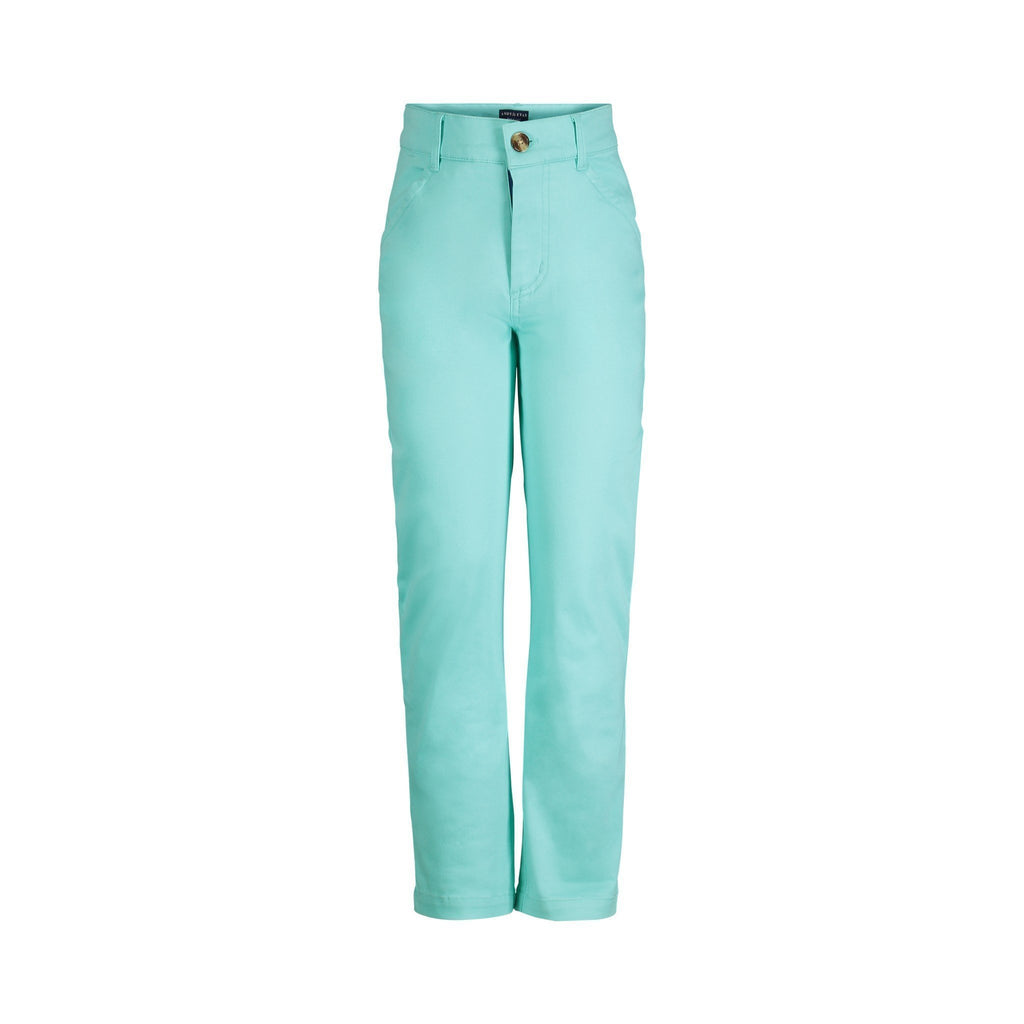 Mint Twill Pant - Andy & Evan - joannas-cuties